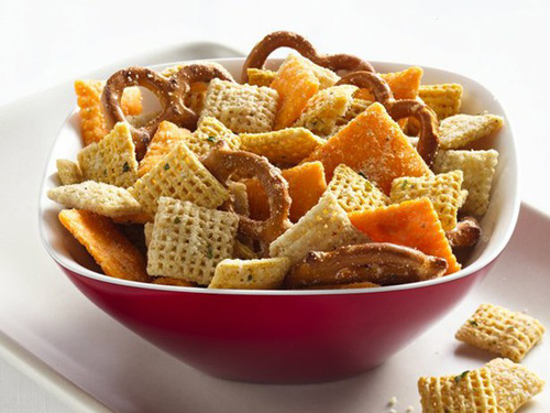 Cheesy Chex Mix